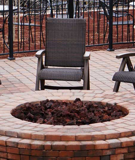Green Dot Landscapes LLC Outdoor Fire Pits